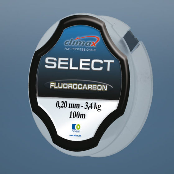 climax Select Fluorocarbon - Angelschnur
